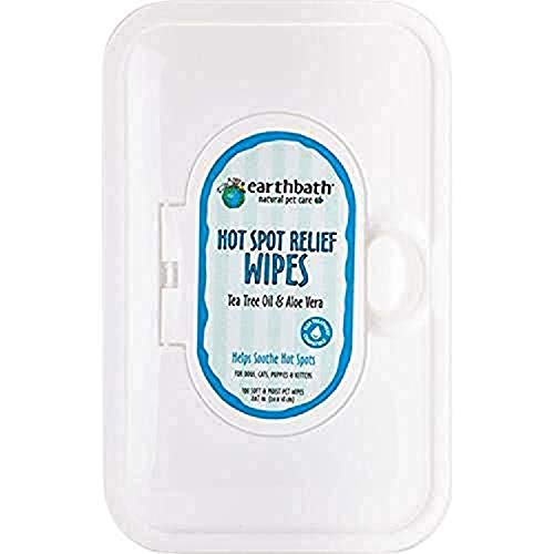 Earscrubbers KW37912 Shed Control Hot Spots Wipes for Pets