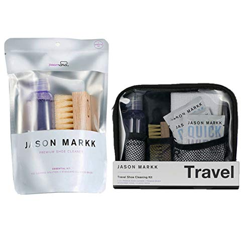 Jason Markk Jason Markk Unisex Travel Cleaning Kit + Essential Shoe Cleaning Kit (Combo) Purple