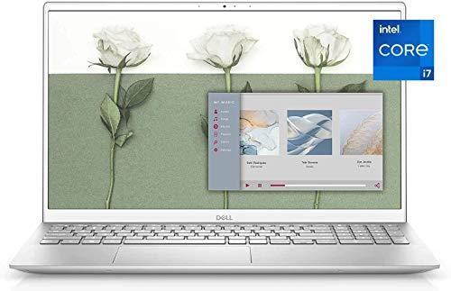 2021 Newest Dell Inspiron 15.6'' FHD Business Laptop, Intel i7-1165G7, 16GB DDR4 RAM, 512GB PCIe NVMe SSD, HDMI, Wireless-AC, Backlit Keyboard, FP Reader, Windows 10 Home, Silver