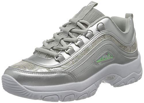 FILA Strada A wmn zapatilla Mujer, plata (Silver), 37 EU