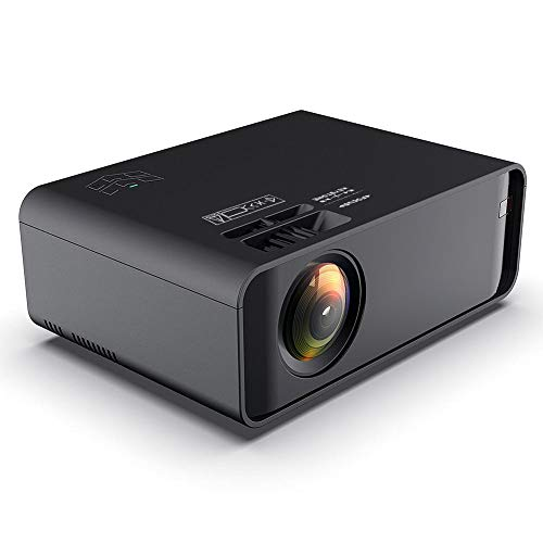 Bewinner1 720p 3D Mini Projector Same Screen, HD Home Theater Projector, Support Dual USB, HDMI, VGA, 1280x720 Portable Video Projector Stereo Sound, Multimedia Player Projector, Best Gift(US)