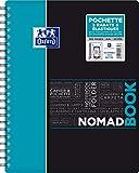 Oxford NomadBook Cahier à Spirales A4+ 160 pages Grands Carreaux Seyès Couverture...