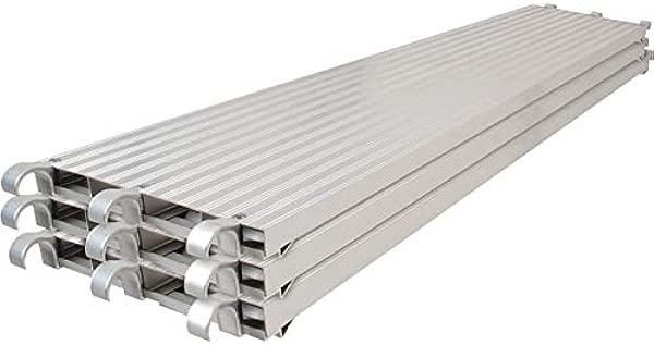 Metaltech Saferstack 7ft X 19in All Aluminum Platform 3 Pack Model Number M MPA719K3