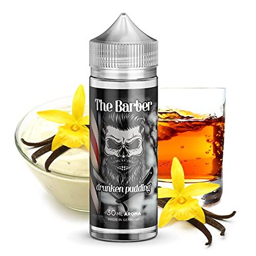 Drunken Pudding - Longfill Aroma (30ml) by The Barber - Nikotinfrei - Aromakonzentrat zum anmischen von E-Liquid