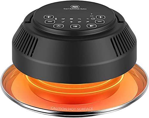 [8 in 1 Air Fryer Lid] CSS 2021 Instant Pot, 1000W Powerful Pressure Cooker Lid, 6&8 Qt Pot Basket, Air Fryer Transformer, Turn Pressure Cooker into Air Fryer/Dehydrator/Broil, Accessories Included