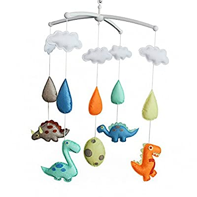 Handmade Baby Crib Musical Mobile [Dinosaur] Colorful Room Decor