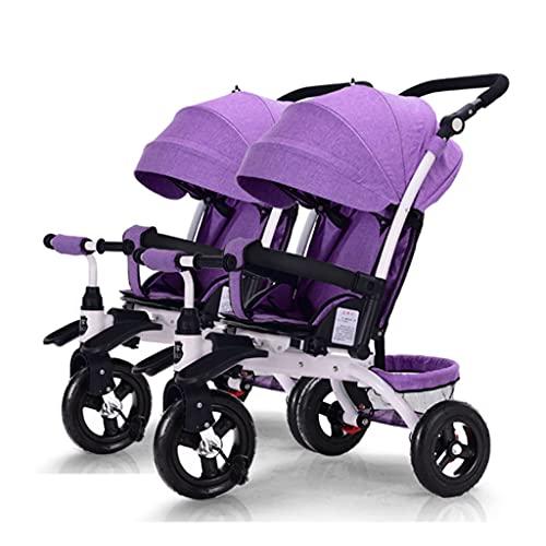 sillas de paseo El artefacto del cochecito de bebé, el automóvil infantil que se puede dividir en un cochecito doble puede sentarse y caminar los cochecitos de carruadores para bebés Cochecito de bebé