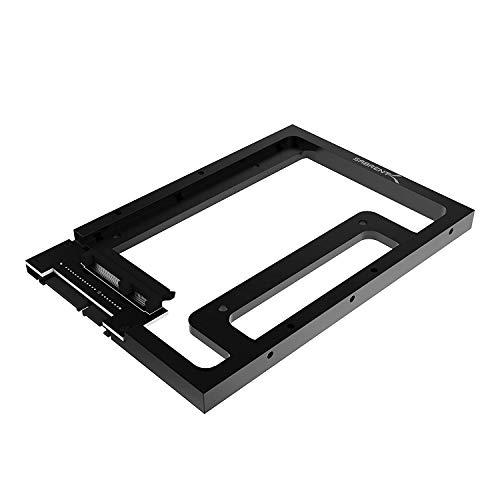Sabrent - Disco Duro SSD y SATA de 2,5 Pulgadas a sobremesa SATA de 3,5 Pulgadas (BK-PCBS)