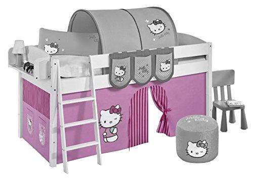 Lilokids Vorhang Hello Kitty Rosa - für Hochbett, Spielbett und Etagenbett