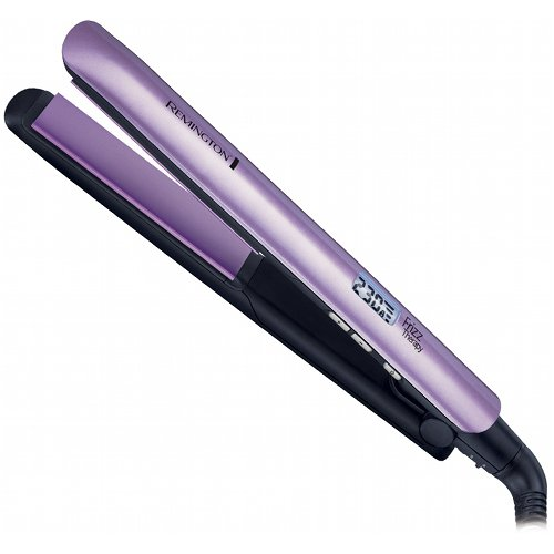 Remington S-9951 Frizz Therapy, Humidity Resistant Ceramic Flat Hairstyling Iron, 1-Inch