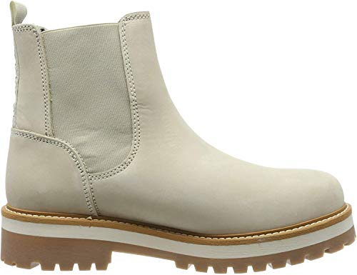 lumberjack Damen Kristy Chelsea Boots, Elfenbein (Cream Ca003), 38 EU