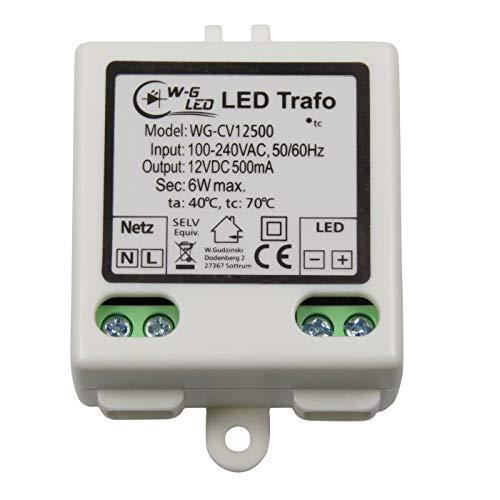 LED Trafo|12V DC|6W max|Transformator|Netzteil|0,5A