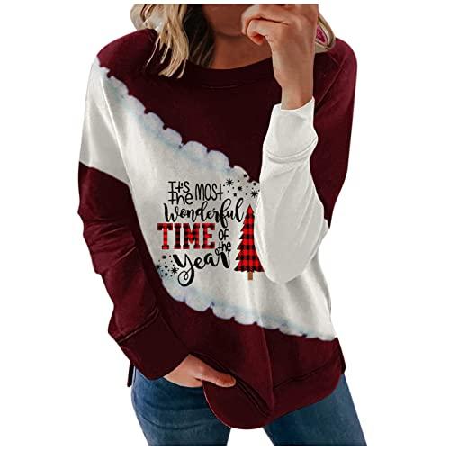 Weihnachten einfarbige t-Shirts Damen Bluse Damen floryday seriös Leap Schuhe Pullover Damen trim Damen Bluse Weiss gestreift Sassy Trim Oversize Bluse florydays Damen Pullover v Ausschnitt thumbnail