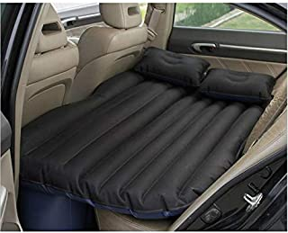 ADL PASSION Car Travel Inflatable Cushion Camping Bed Rear Seat with Air Pillows and Car Air Pump And Repair Kit,Inflatabl...