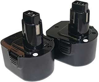 2x 12V NI-CD PS130–Batería para Black & Decker, Firestorm 12Volt Cordless Drill