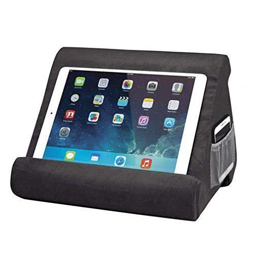 Feketden - Soporte de cojín para Tablet, Mini Soporte para Ordenador, Varios ángulos, para Tablets, e-Readers, Smartphones, Libros, revistas
