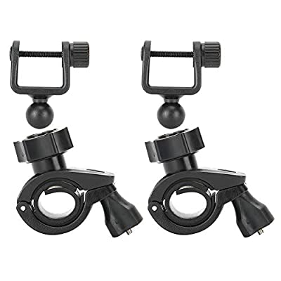 Pusokei 2pcs Dash Cam Camera DV Mount Holder, U?Type Head Mount Support Rotated 360 Degrees,Easy to Install and Use for Car Bicycle Motorbike by Pusokei