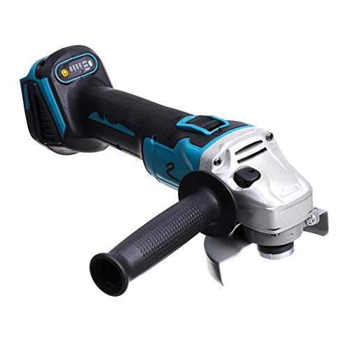 Winkelschleifer 125mm,18V 4 Geschwindigkeit Akku Winkelschleifer Brushless Motor (800W, 10.000 1/min Drehzahl) Power Tool Kompatibel mit Makita,125MM