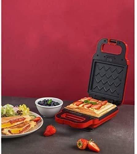 Brotmaschine Brotbackautomaten, Sandwich-Maschine Licht Lebensmittel-Maschine Automatische Frühstück Maschine Waffel Brot-Maschine Haushalt Multifunktionale Haushalt, Removable Backblech Antihaft-Pfan