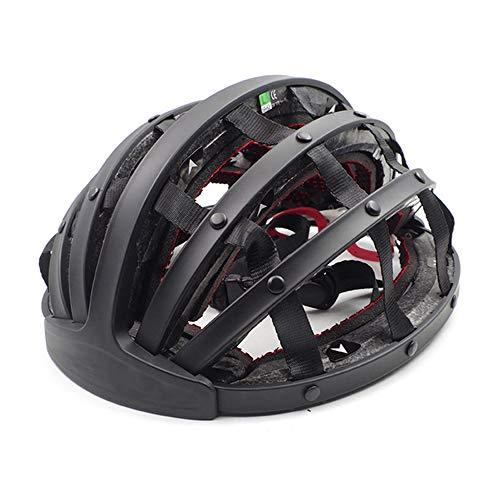 Casco Bicicleta ZWRY Casco Plegable Ultraligero para Hombres, Mujeres, Ciudad, Casco, Ciclismo,...