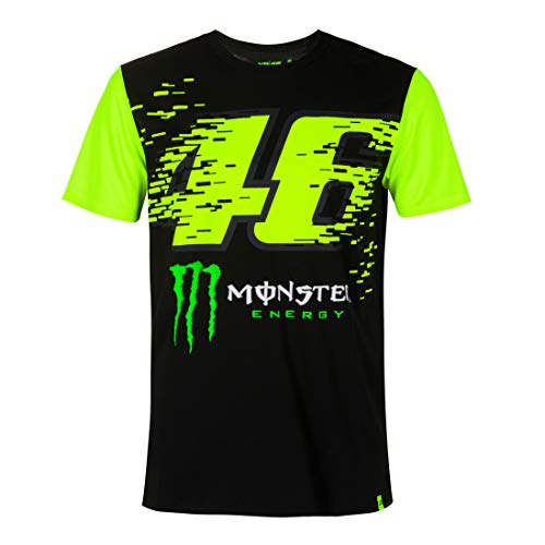 Valentino Rossi T-Shirti VR46 MotoGP Monza Monster Sponsor Offizieller 2020