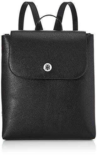 Tommy Hilfiger Damen Th Core Backpack Rucksack Schwarz (Black)