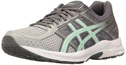 ASICS Gel-Contend 4 Women's Running Shoe, Mid Grey/Glacier Sea/Silver, 10.5 W US