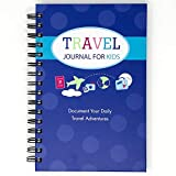 Travel Journal for Kids- Fun and Easy Way to Document Several Childhood Vacations in One Journal (Royal Blue)