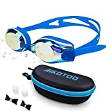 Product Image of the AIKOTOO Comfortable Shortsighted Swimming Goggles,Nearsighted Swim Goggles