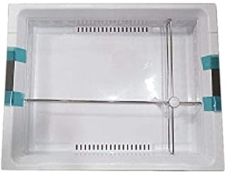 Samsung DA97-12434A Refrigerator FlexZone Drawer Assembly Genuine Original Equipment Manufacturer (OEM) Part