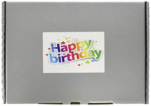 Chocolate Sweets Gift Box -Happy Birthday Design - Perfect Gift - Fits Through letterbox