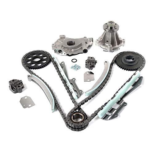 Timing Belt Kit W//Water Pump Compatible with 1993-1995 Honda Civic Del Sol丨1988-1995 Honda Civic丨1988-1991 Honda CRX 1.5L 1493CC L4 SOHC