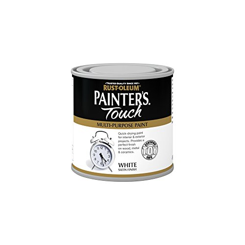 Rust-Oleum RO0050102F1 250ml Painter's Touch Toy-Safe Paint - Satin White
