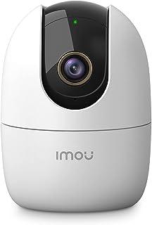 كاميرا مراقبة بدقة عالية 4 ميجابكسل وتغطية 360 درجة (ابيض) من اي مو، بطاقة اس دي 256 جيجا، واي فاي وايثرنت، وضع خصوصية، مس...