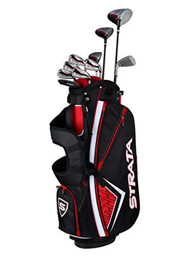 Callaway Men's Strata Plus Complete Golf Set (14-Piece, Left Hand, Steel)