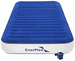 top 10 aero travel bed EnerPlex: Deluxe Series Double Air Mattress with Luxus Wireless High Speed Pump…