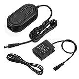 Powerextra DMW-BLC12 Dummy Battery DMW-DCC8 DC Coupler DMW-AC8 AC Power Supply Adapter for Panasonic Lumix DMC-FZ2500 FZ1000 FZ300 FZ200 G85 GX8 G7 G6 G5 GH2 DC-G90 G95 Cameras