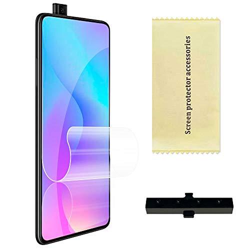 OcioDual Protector de Pantalla TPU Hidrogel para Xiaomi Mi 9T/Pro Redmi K20 Flexible Membrana Lámina Protectora Antiarañazos