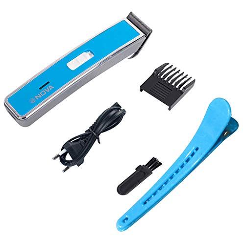 Haarschneidemaschine Set, Wiederaufladbarer Kabelloser Haartrimmer Barttrimmer Elektrischer Rasierer Wasserdichtes für Männer und Familie Celucke
