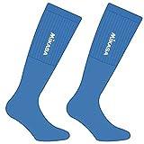 Mikasa Saba MT198 Coppia Calze Tubolari Azzurro Royal Unisex Taglia Unica One Size Volley Pallavolo