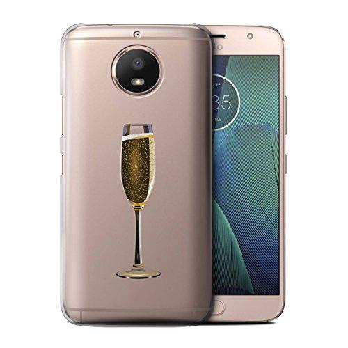 Stuff4®®®®®®®®®®®®®®®®®®®®®®®®®®®®®® Phone Case/Cover/Skin/Moto-CC/Sass/Sassy Collection Motorola Moto E4 Plus 2017 Een glas champagne
