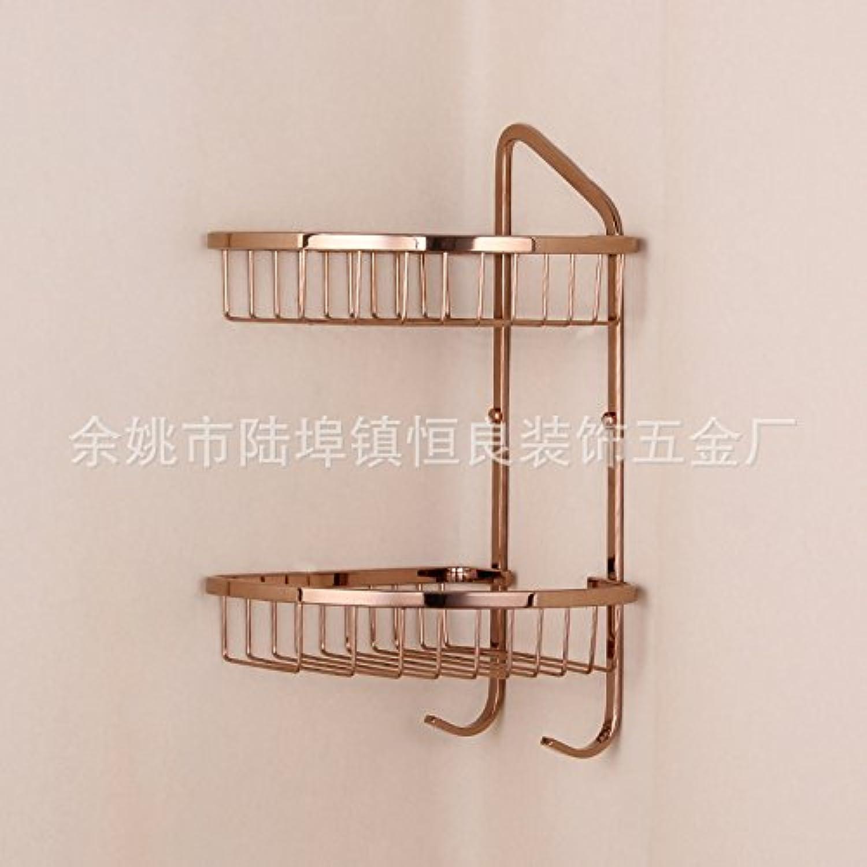 pink gold stainless steel racks kitchen and bathroom hardware accessories bathroom rack