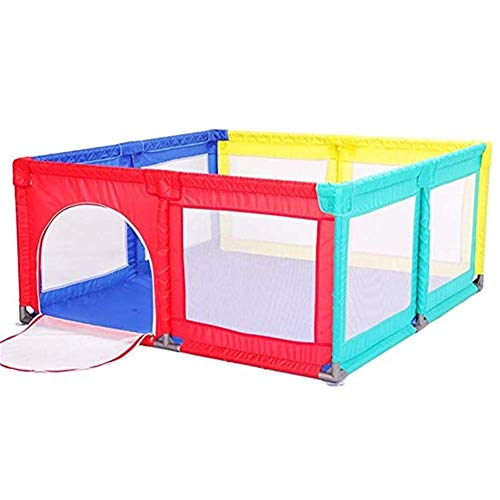 Fantastic Prices! Byrhgood Playpen Baby Baby Play Fence, Child Safety Fence Baby/Toddler Crawling Po...