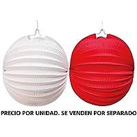 JuguetesFantasia.com FAROLILLO Rojo / Blanco (Surtido)