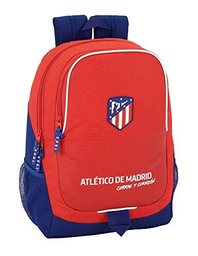 "Safta Mochila Escolar Atlético De Madrid ""Coraje"" Oficial 320x160x440mm"
