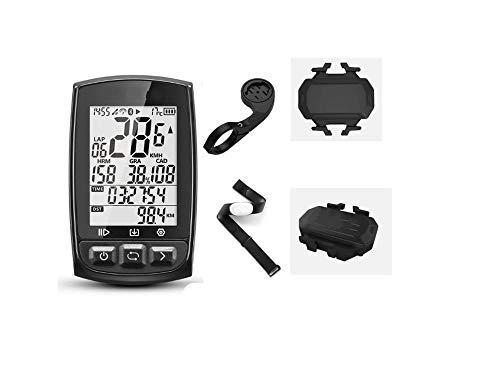 YUNDING odómetro GPS Ciclismo Ordenador Inalámbrico Bicicleta Digital Cronómetro Ciclismo Velocímetro Ant+ Bluetooth 4.0
