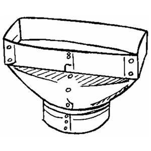 Galvanized Register Boot by Imperial Mfg Group
