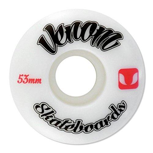 Venom Logo Skateboard Pro ruote, 50 mm, lunghezza: 53 mm, 100a-adesivi in omaggio