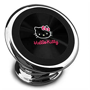 Hello Kitty Car Phone Holder Mount,360°Dashboard Car Phone Mount for Any Smartphone,Grey