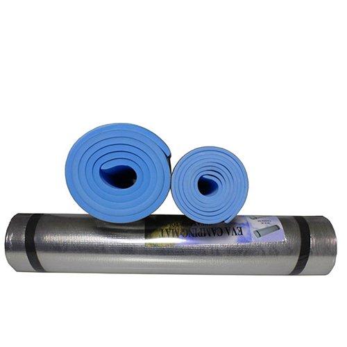 GlobalDeal Direct - Tappetino da yoga in alluminio leggero e schiuma, per esercizi all'aperto, per picnic